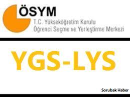 2013 LYS sınavı soru ve cevapları