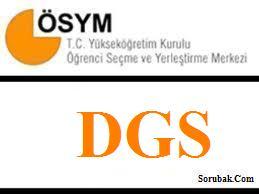 2013 DGS sonuçları