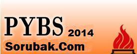 2014 pybs sınav tarihi