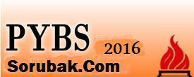 2016 Bursluluk sınav tarihi