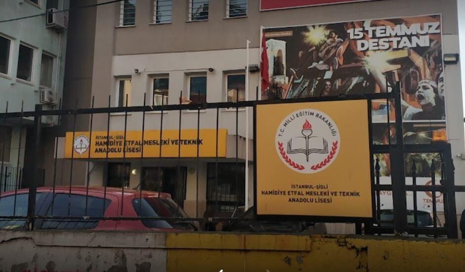 Hamidiye Etfal Mesleki ve Teknik Anadolu Lisesi İstanbul/Şişli