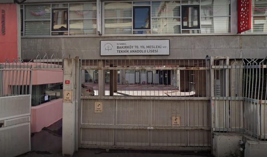 Bakırköy 70 Yıl Mesleki Ve Teknik Anadolu Lisesi Taban Puanı