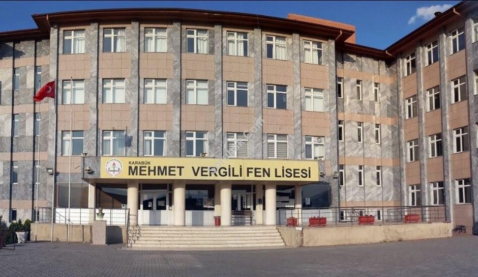 Karabük Mehmet Vergili Fen Lisesi