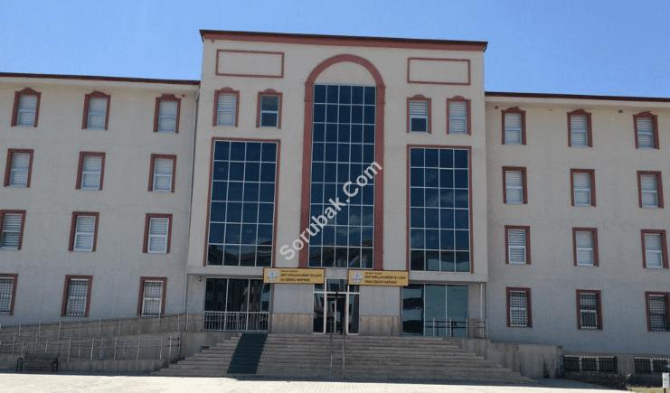 Ortaköy Şehit Nurullah Sabırer Fen Lisesi