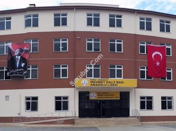 Mehmet Halit Baki Anadolu Lisesi