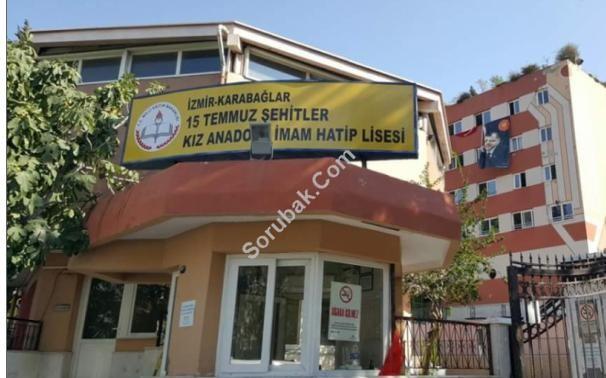 Karabağlar 15 Temmuz Şehitler Kız Anadolu İmam Hatip Lisesi