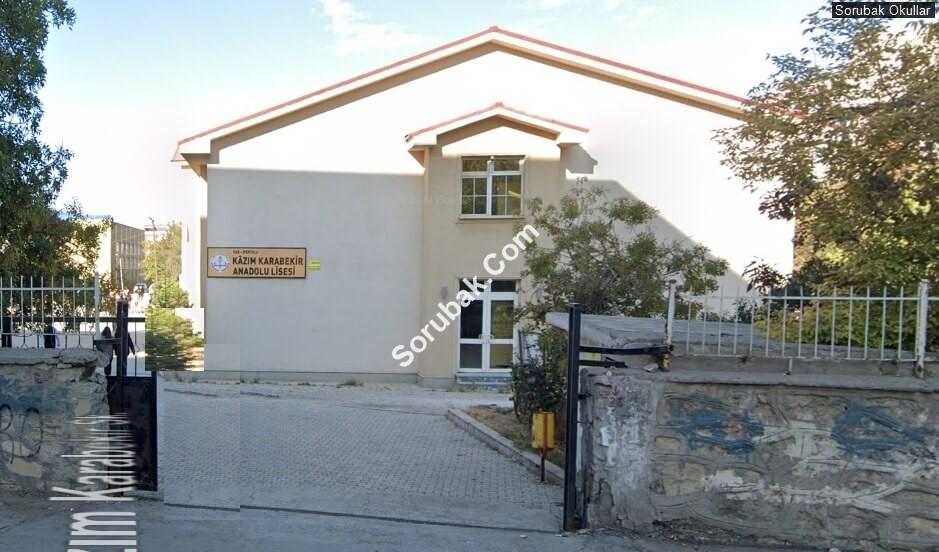 Kazım Karabekir Anadolu Lisesi lisesi