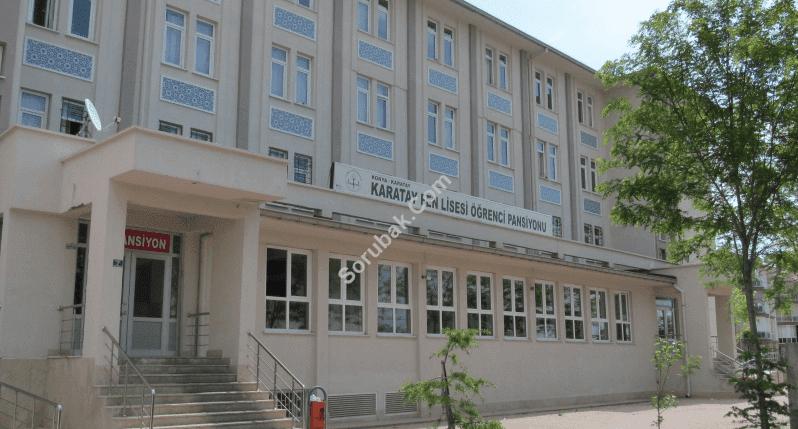 Karatay Fen Lisesi