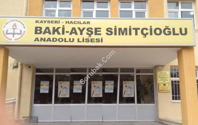 Baki-Ayşe Simitçioğlu Anadolu Lisesi