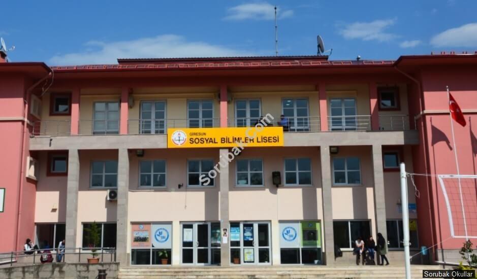 Giresun Sosyal Bilimler Lisesi