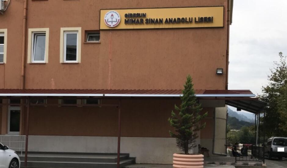 Giresun Mimar Sinan Anadolu Lisesi