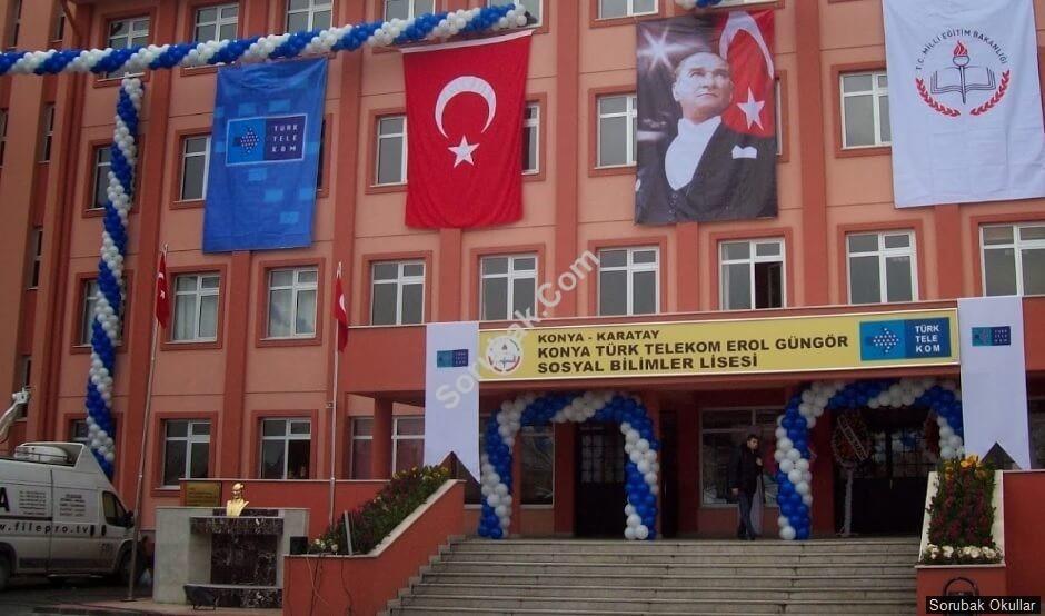 Konya Türk Telekom Sosyal Bilimler Lisesi