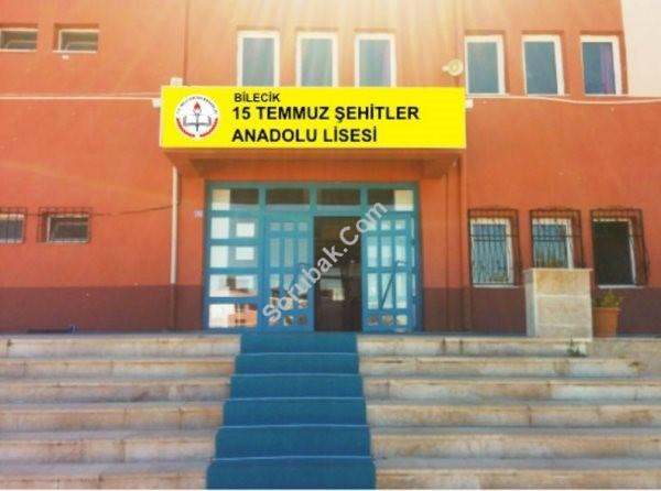 Bilecik 15 Temmuz Şehitler Anadolu Lisesi
