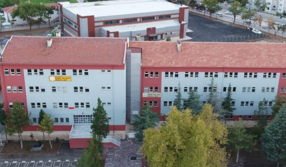 Mehmet Akif Ersoy Anadolu Lisesi Konya resmi