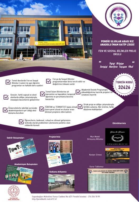 Pendik Uluslararası Kız Anadolu İmam Hatip Lisesi