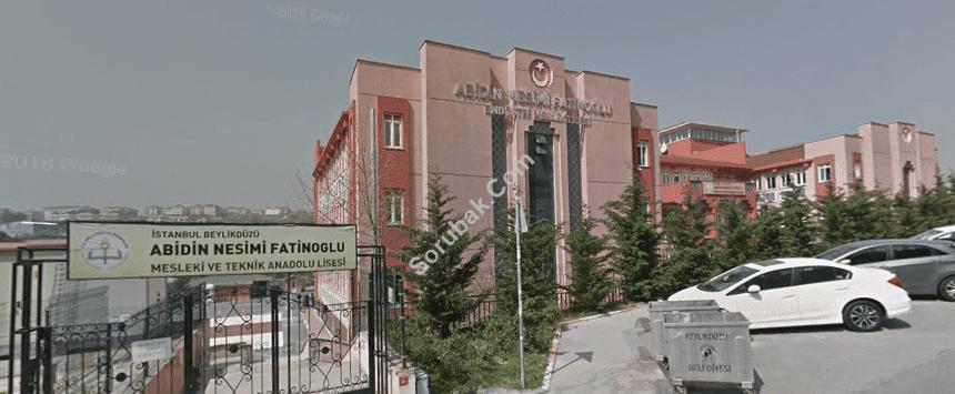 Abidin Nesimi Fatinoğlu Anadolu Lisesi