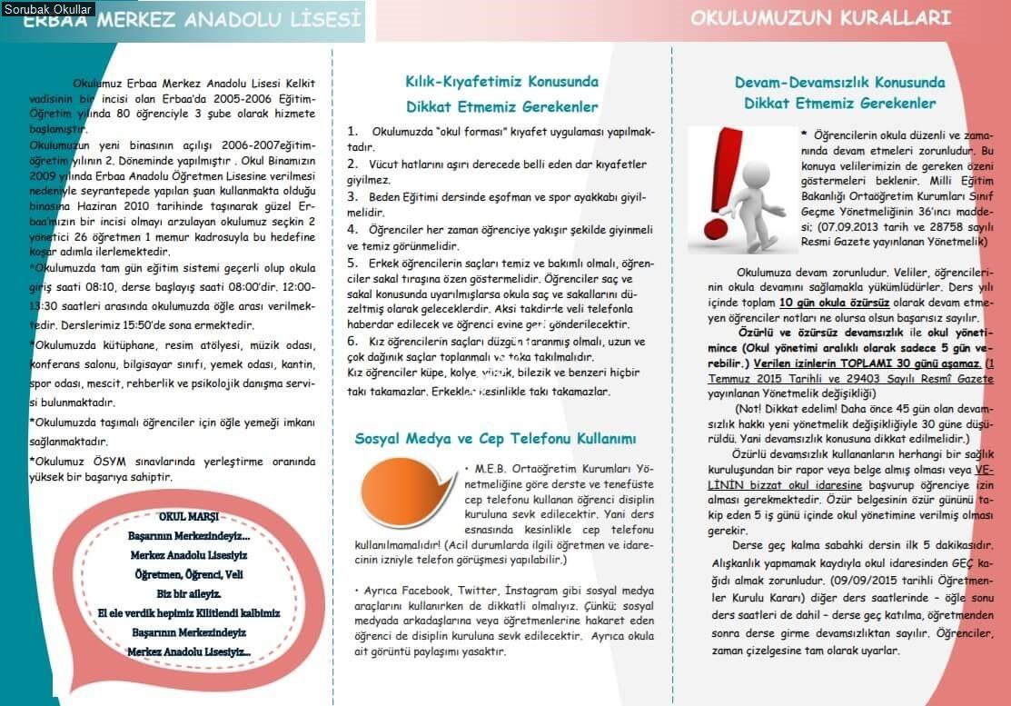 Erbaa Merkez Anadolu Lisesi