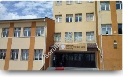 Sincan Ahmet Andiçen Mesleki ve Teknik Anadolu Lisesi