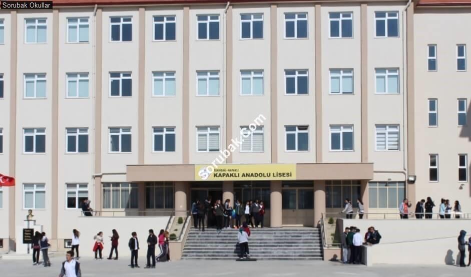Kapaklı Anadolu Lisesi