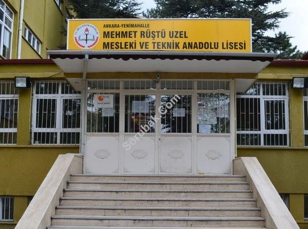 Mehmet Rüştü Uzel Mesleki