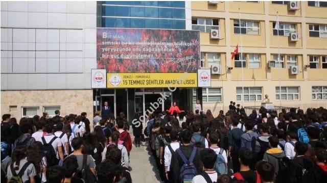 Pamukkale 15 Temmuz Şehitler Anadolu Lisesi