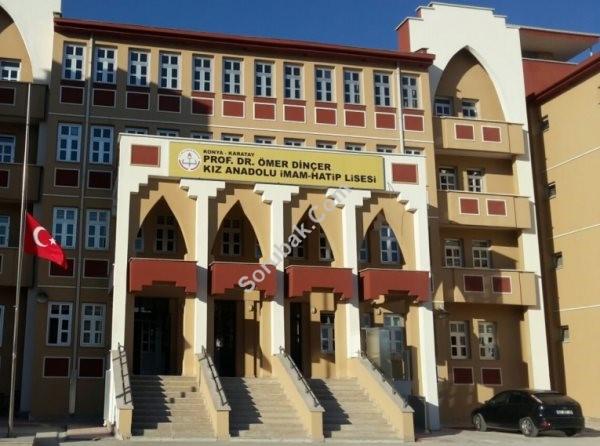 Prof.dr.ömer Dinçer Kız Anadolu