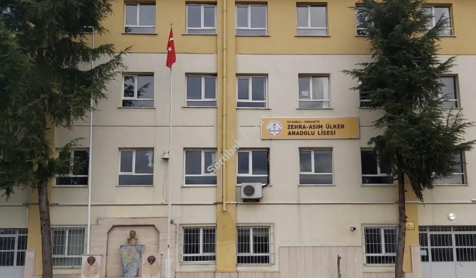 Zehra - Asım Ülker Anadolu Lisesi
