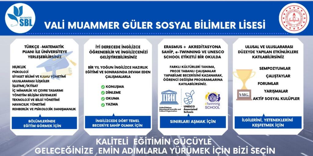 Vali Muammer Güler Sosyal Bilimler Lisesi