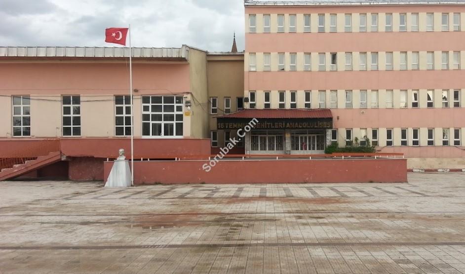 Ağrı 15 Temmuz Şehitleri Anadolu Lisesi