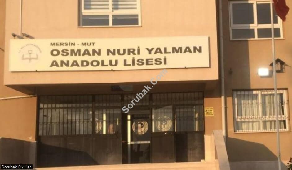 Mut Osman Nuri Yalman Anadolu Lisesi