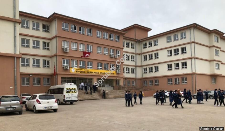 Siverek Karacadağ Anadolu Lisesi