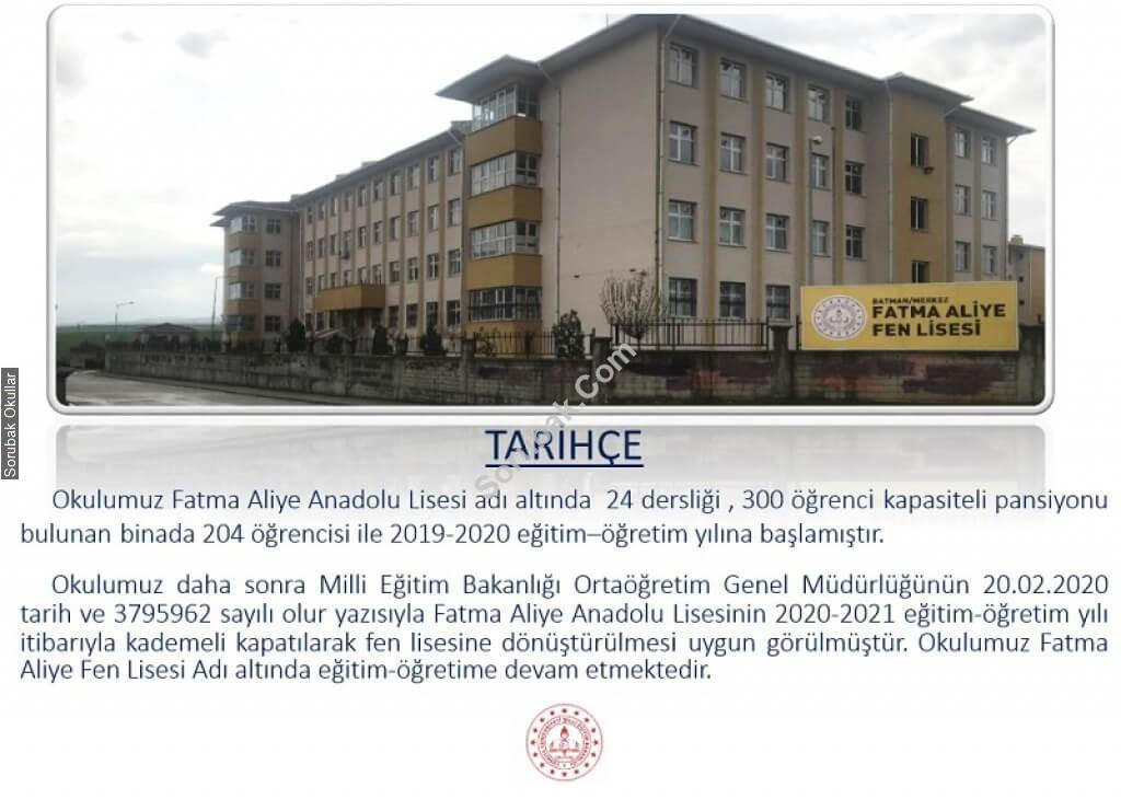 Fatma Aliye Fen Lisesi