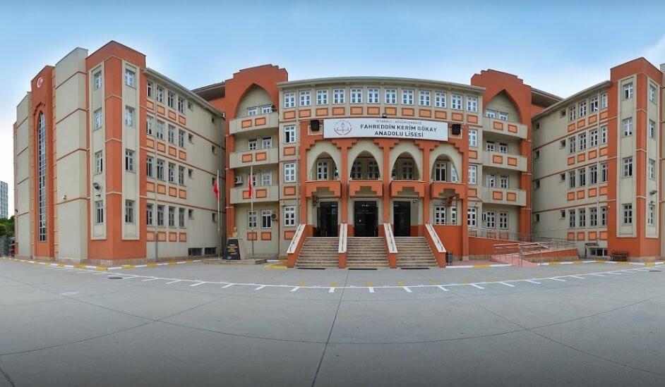 Fahreddin Kerim Gökay Anadolu Lisesi resmi