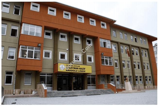 Süleyman Nazif Anadolu Lisesi