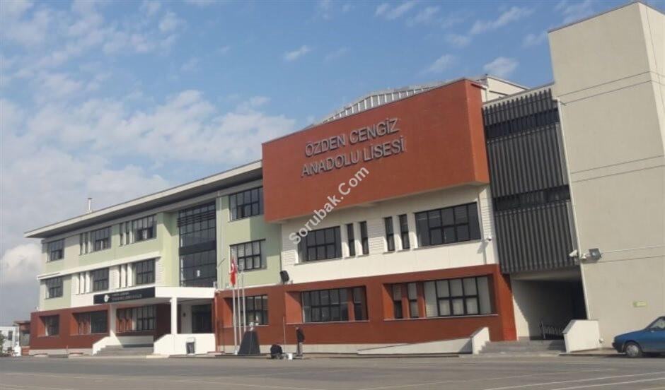 Özden Cengiz Anadolu Lisesi İstanbul/Çekmeköy