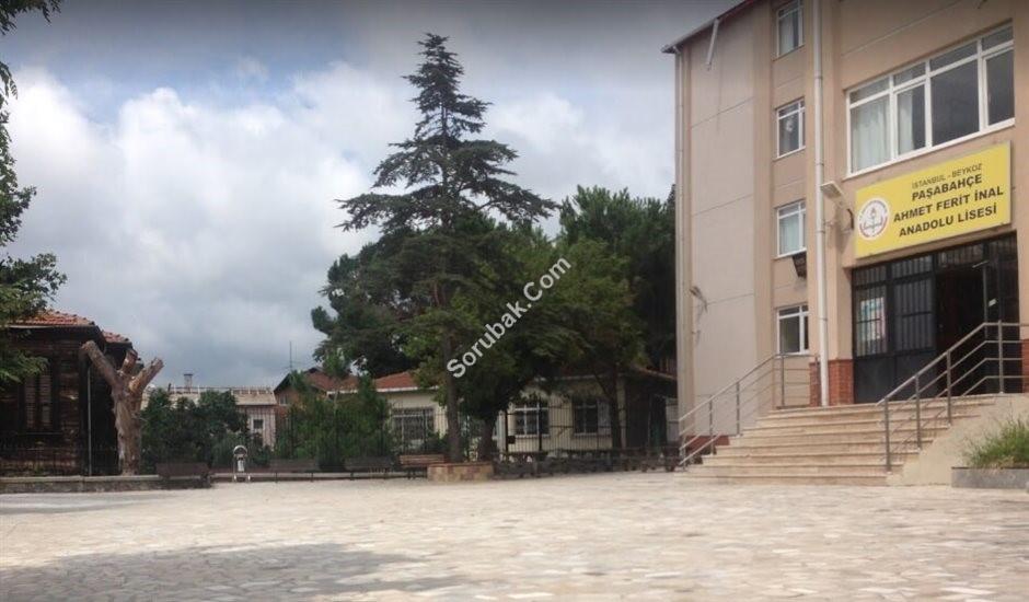 Paşabahçe Ahmet Ferit İnal A