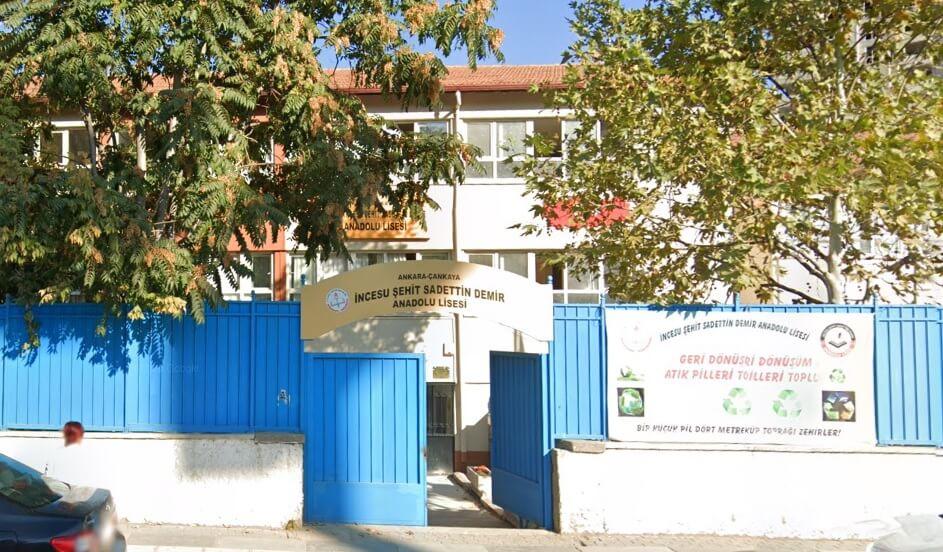 İncesu Şehit Sadettin Demir Anadolu Lisesi
