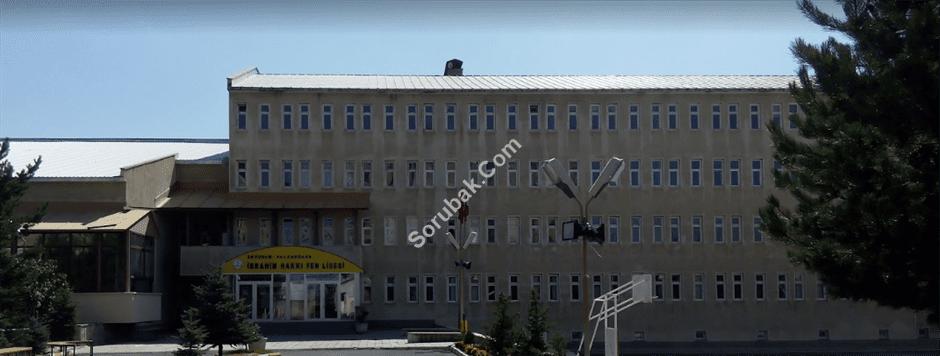 Erzurum İbrahim Hakkı Fen Lisesi