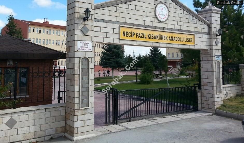 Kütahya Necip Fazıl Kısakürek Anadolu Lisesi