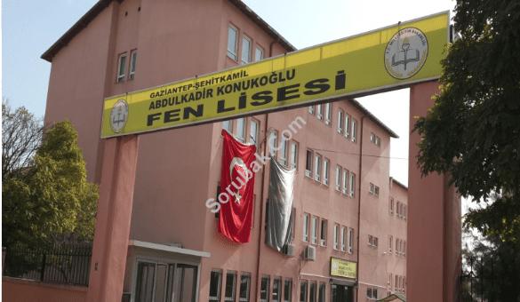 Abdulkadir Konukoğlu Fen Lisesi