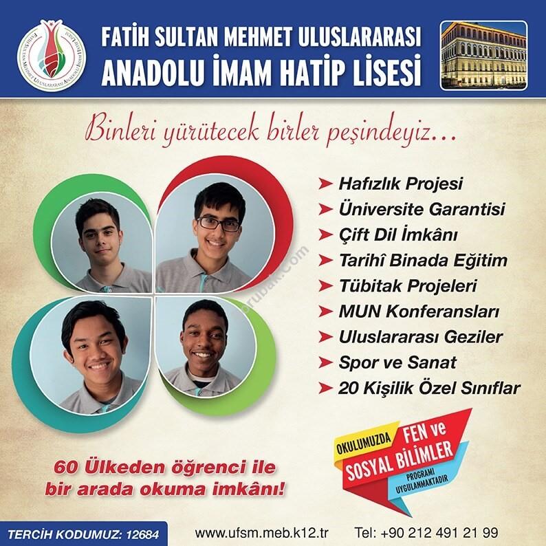 Fatih Sultan Mehmet Uluslararası Anadolu İmam Hatip Lisesi