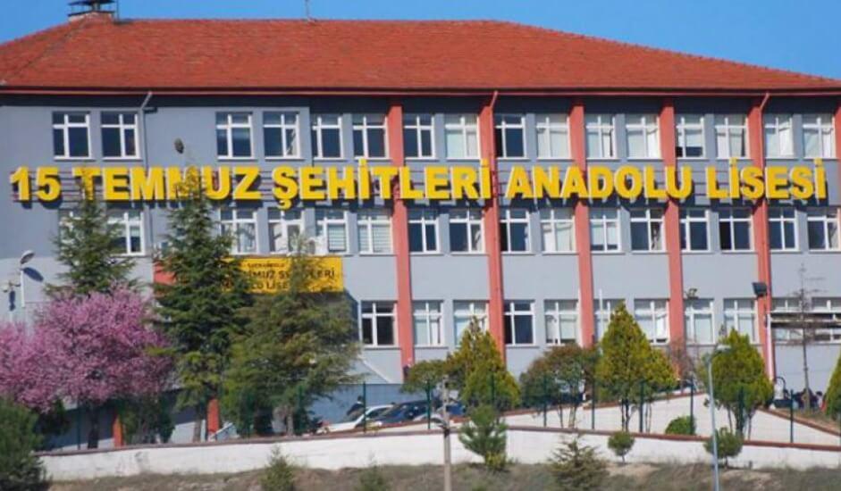Safranbolu 15 Temmuz Şehitleri Anadolu Lisesi