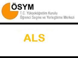 2013 ALS sonuçlarını öğren ÖSYM