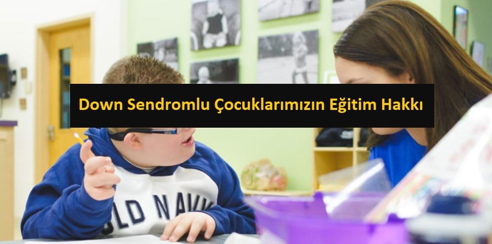 Down Sendromlu Öğrencilere Nasıl Bir Eğitim Verilmelidir?