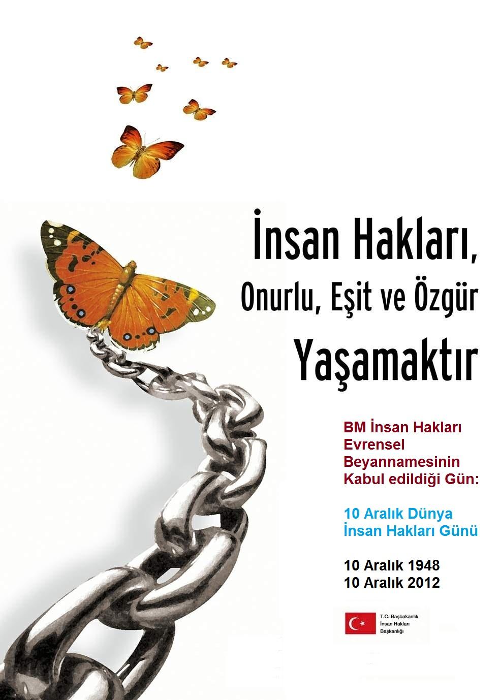 En Güzel İnsan Hakları Haftası Şiirleri