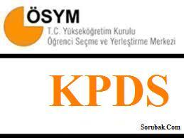 18 Kasım 2012 KPDS sonbahar dönemi soru ve cevap anahtarları