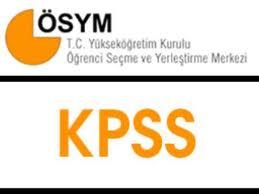 2013-1 Kpss Lisans Taban Puanları (4001 Nitelik Kodu)
