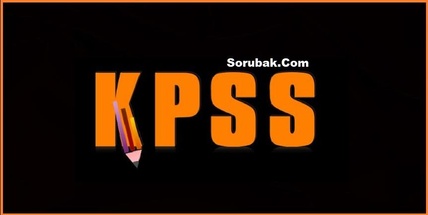 2018/1 KPSS Tercih Kılavuzunda değişiklik