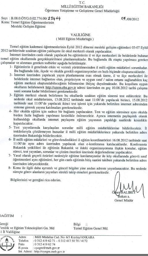 2012-2013 Eyl�l D�nemi Seminer Konular�